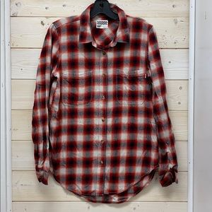 Vans women's flannel shirt.